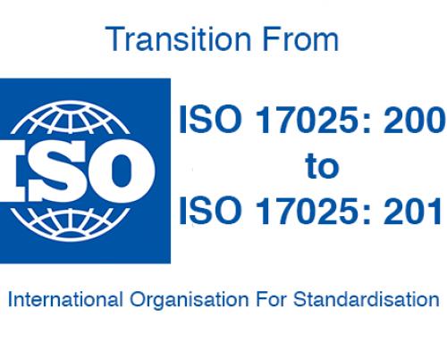Publicada la nueva norma ISO/IEC 17025:2017